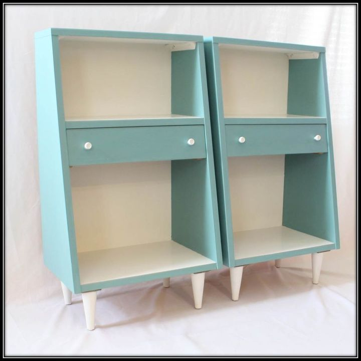 Fresh Mid-century Modern Nightstands Given a Contemporary Look | Hometalk QM02