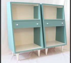 Mid Century Modern Nightstands Given A Contemporary Look, Chalk Paint,  Painted Furniture