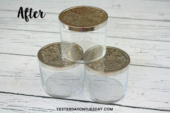 the best way to remove wax from glass jar candles, cleaning tips, how to, repurposing upcycling