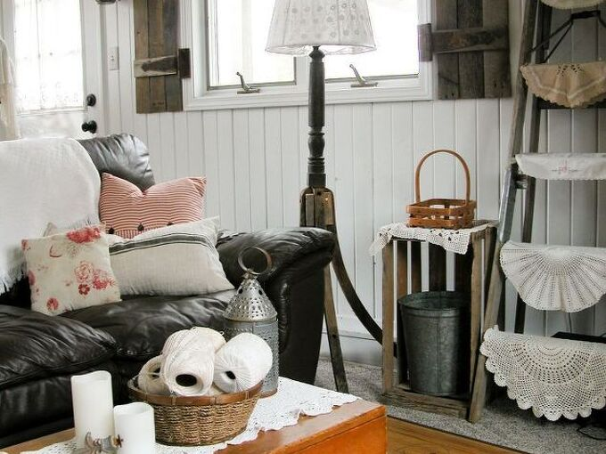 how to repurpose antique rockers into a funky floor lamp, how to, lighting, repurposing upcycling, woodworking projects
