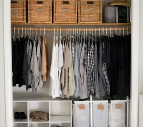 how we organized our small bedroom bedroom ideas closet organizing storage ideas & How We Organized Our Small Bedroom | Hometalk