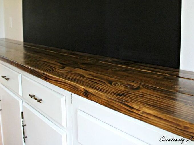 diy wood counter for under 50, countertops, diy, woodworking projects