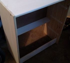Faux Apothecary Cabinet My Ikea Rast Hack, Painted Furniture