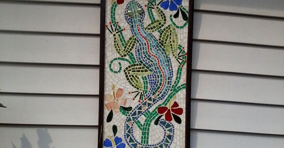 Custom Mosaic On Hardi Backer Board Hometalk