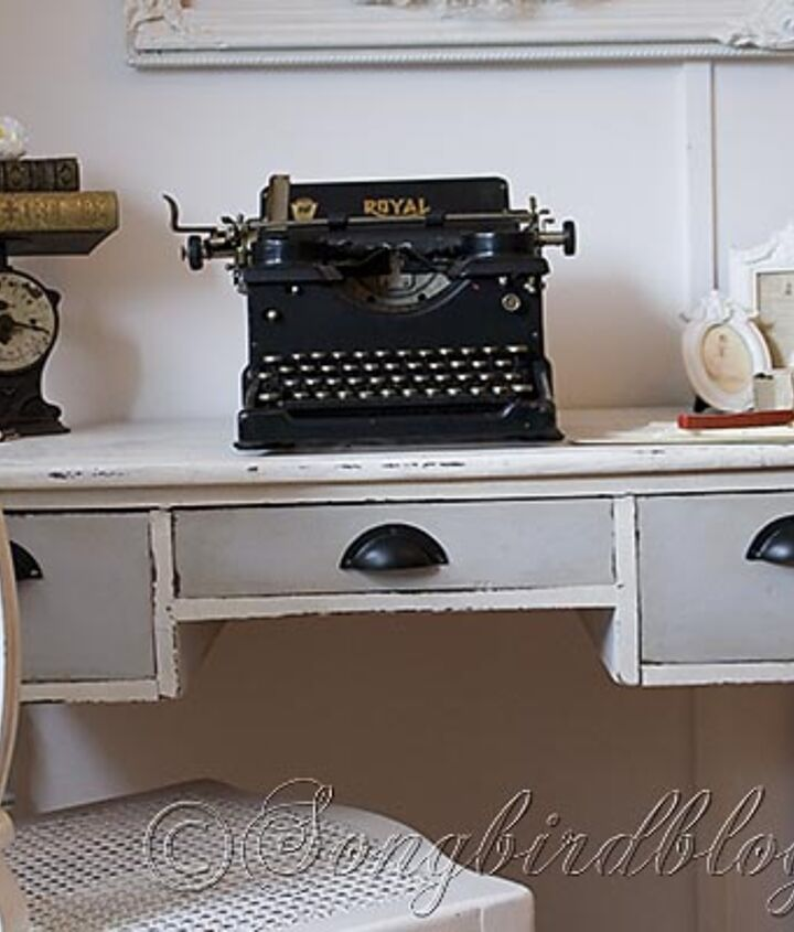 Chalk paint gives new life to old desk