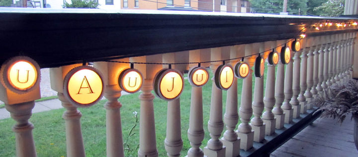 remake your out door lights on the cheap, crafts, doors, lighting