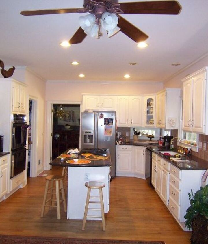 The Kitchen Prior To The Remodel