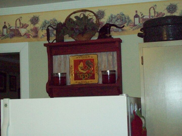 This Is Made From Leftovers Other Projects And Painted To Look Old Furniture
