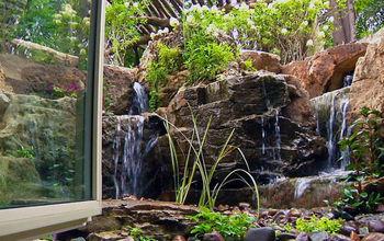 Waterfalls for Window Wells