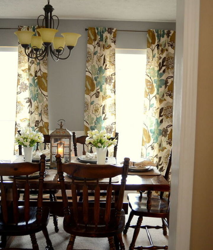 The curtains (made from some discount Braemore fabric) are my favorite part.