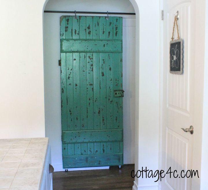 old door and plumbing supplies, diy, doors, home decor