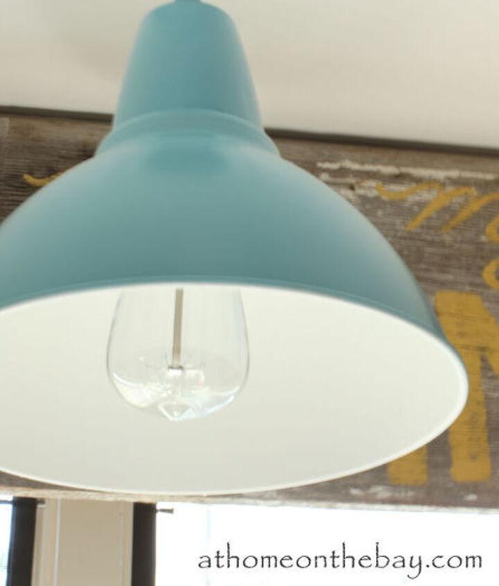 ikea hack barn light, lighting