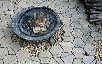 backyard ideas fire pit area, landscape, outdoor living