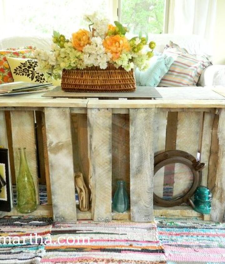 pallet coffee table, painted furniture, pallet