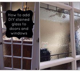 diy stained glass privacy doors windows diy doors window treatments windows  sc 1 st  Hometalk & DIY Stained Glass for Privacy on Doors and Windows   Hometalk
