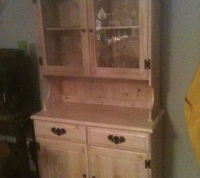 Old China Cabinet Restoration, Kitchen Cabinets, Painted Furniture