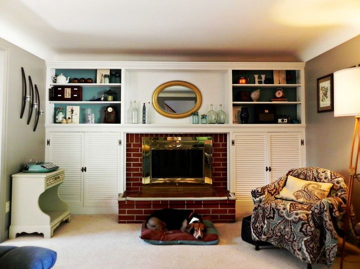 winning built ins for living room. fireplace and built ins before after  fireplaces mantels home decor living room Fireplace Built Before After Hometalk