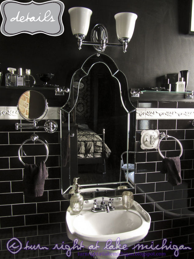 A detail shot of the sink area.