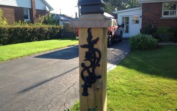 yard sale wall candle sconce repurpose, curb appeal, outdoor living, repurposing upcycling