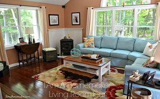living room ideas blue orange color scheme, home decor, living room ideas, wall decor