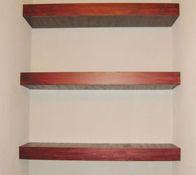 Building Floating Shelves In A Small Bathroom, Shelving Ideas, Storage Ideas,  Woodworking Projects