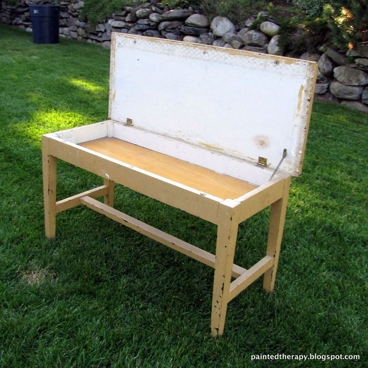 Upcycled Piano Bench To Coffee Table Hometalk