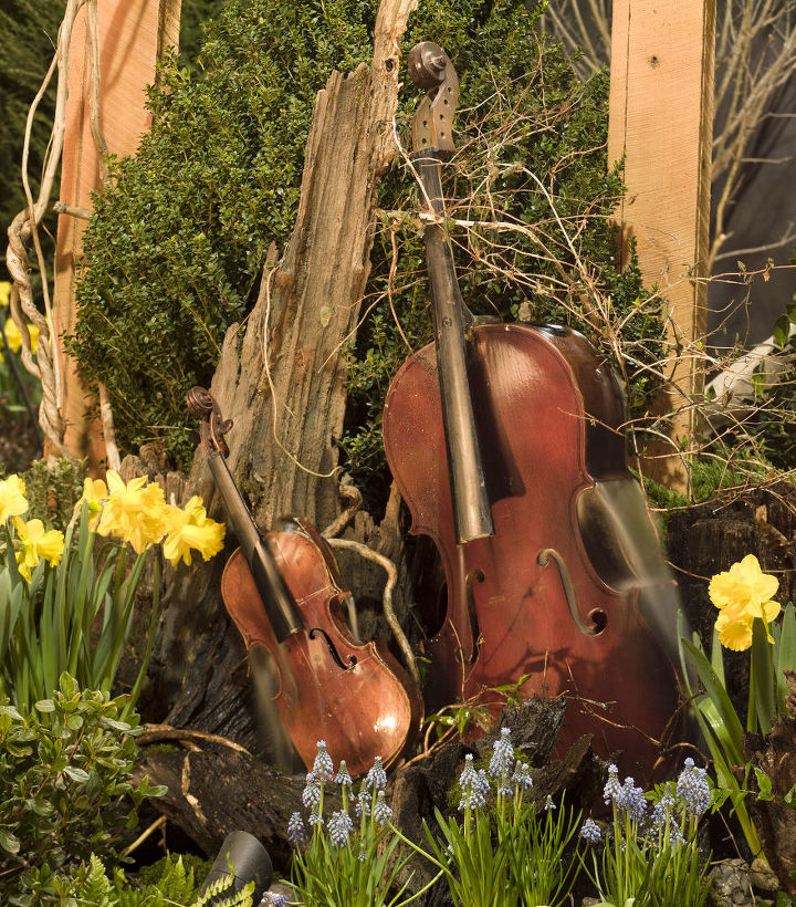 """Musical fountain commissioned for the 2011 MD Home and Garden Show """"Symphony of Spring"""""""