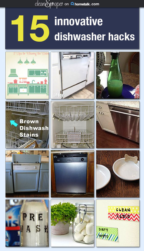cleaning tips dishwasher hacks, appliances, cleaning tips