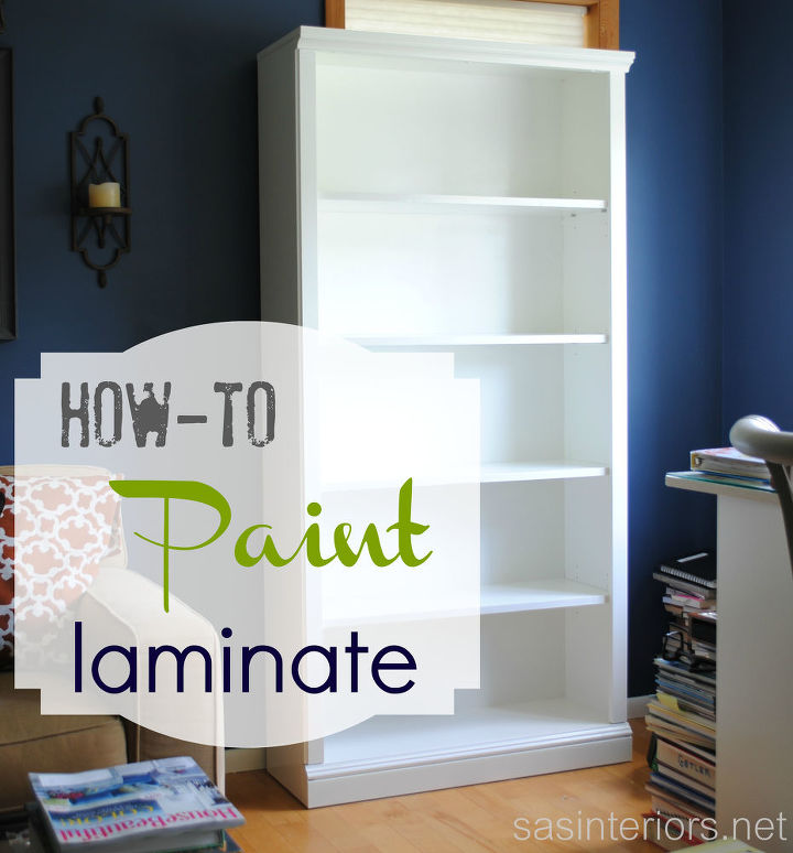 How To Paint Laminate Furniture Painted Shelving Ideas A Full Tutorial On