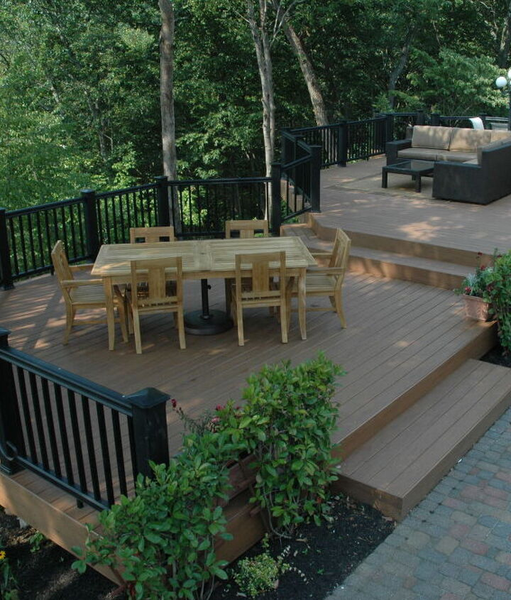 Tip: Plan spaces for specific uses. http://www.deckandpatio.com/decks/portfolio.html