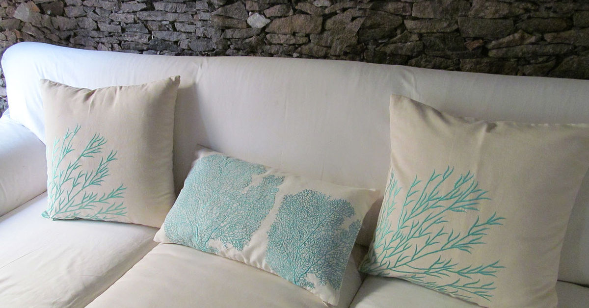 Coastal Themed Throw Pillows Hometalk