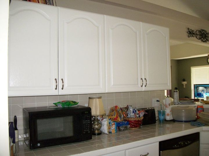 Kitchen Transformation From White To Chocolate Cabinets Design Painting