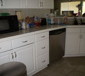 Great Kitchen Transformation From White To Chocolate Cabinets, Kitchen Cabinets,  Kitchen Design, Painting,