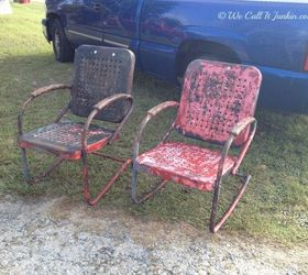 Painted Furniture Vintage Lawn Chair Reno, Outdoor Furniture, Painted  Furniture