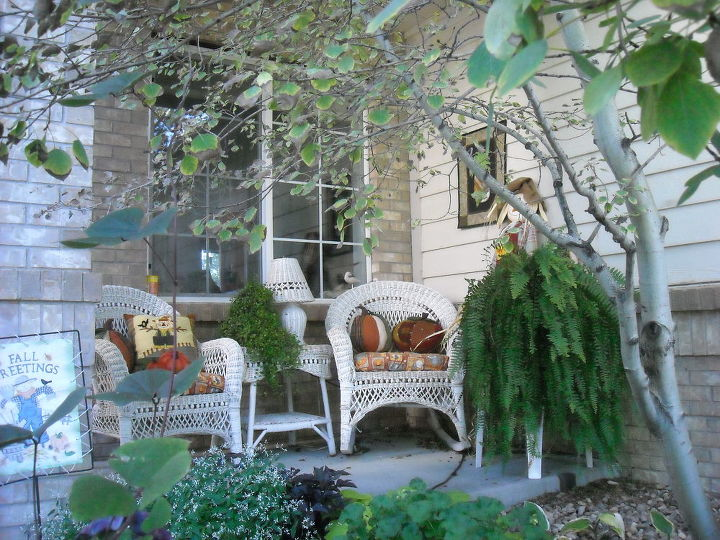 my home and garden, decks, doors, gardening, outdoor living, ponds water features, Decorated for fall