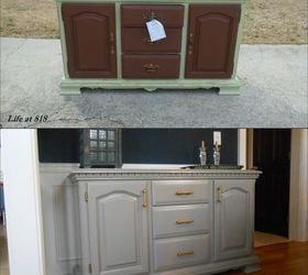 New Life For A Dining Room Buffet, Dining Room Ideas, Painted Furniture