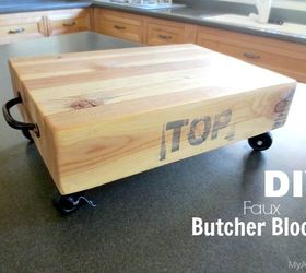 Woodworking Make Faux Butcher Block Hometalk