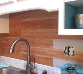 Plank Kitchen Backsplash Peel And Stick Flooring, Flooring, Kitchen  Backsplash, Kitchen Design