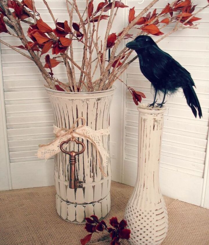 You can embellish and change the flavor quickly with additional items like this crow!