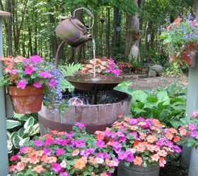 Charmant Tea Pot Fountain Instructions, Home Decor, Outdoor Living, Ponds Water  Features, Here