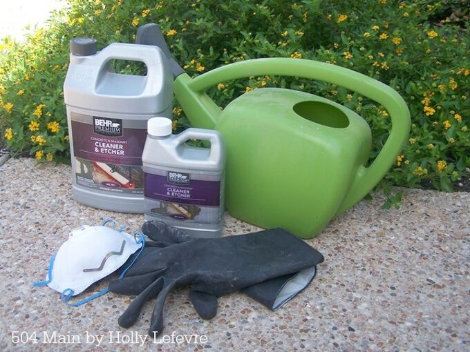 how to prepare concrete floors dyeing staining, concrete masonry, flooring, how to, painting