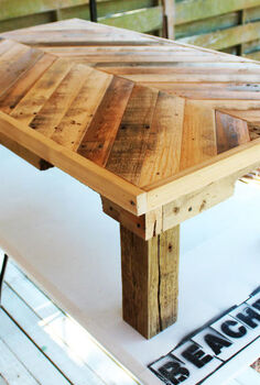 pallet wood coffee table, diy, pallet, woodworking projects, All natural