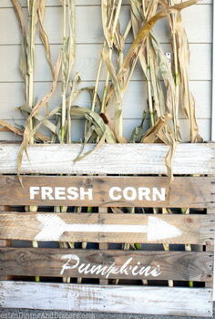 neutral fall porch, seasonal holiday d cor, wreaths, DIY Vintage Farmhouse Sign