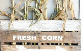 neutral fall porch, seasonal holiday d cor, wreaths, DIY Vintage Farmhouse Sign