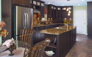 which cabinet solution is right for your kitchen remodel, kitchen cabinets, kitchen design, kitchen island, The new kitchen boasts an incredible amount of customized storage rich textures colors a professional design plan that suited their unique lifestyle and acclaimed tile design Read more about the changes