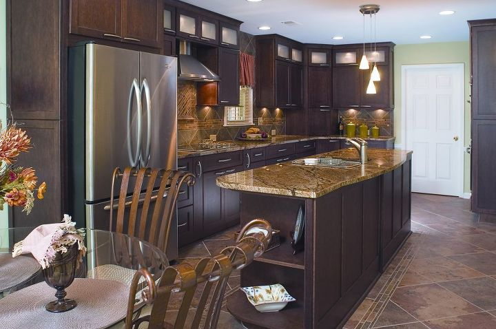 The New Kitchen Boasts An Incredible Amount Of Customized Storage Rich Textures Colors A