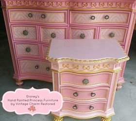 Exceptionnel Hand Painted Princess Furniture, Painted Furniture, Painting, Repurposing  Upcycling