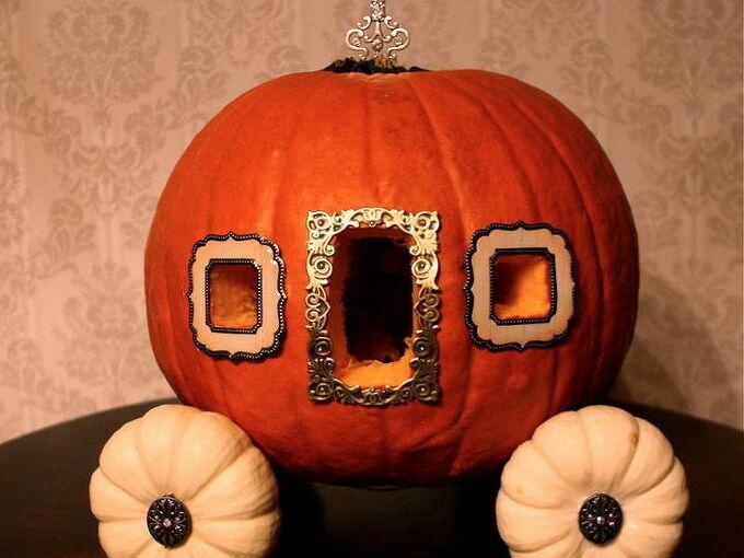 cinderella pumpkin coach, crafts, Cinderella Pumpkin Coach