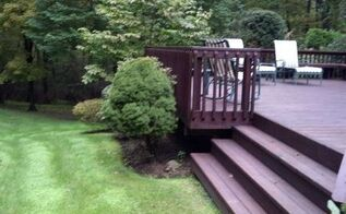 vintage deck i photographed this deck today can you guess how old it is see below, decks, outdoor living, patio, Classic Deck and Patio Company railing We called it slat railing