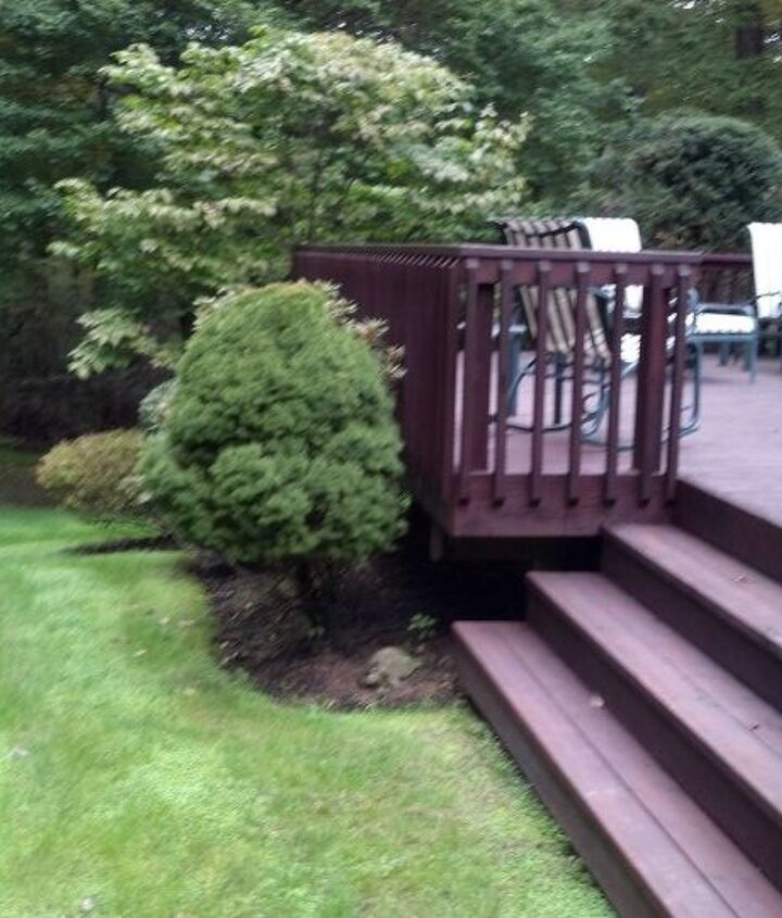 "Classic Deck and Patio Company railing. We called it ""slat"" railing"